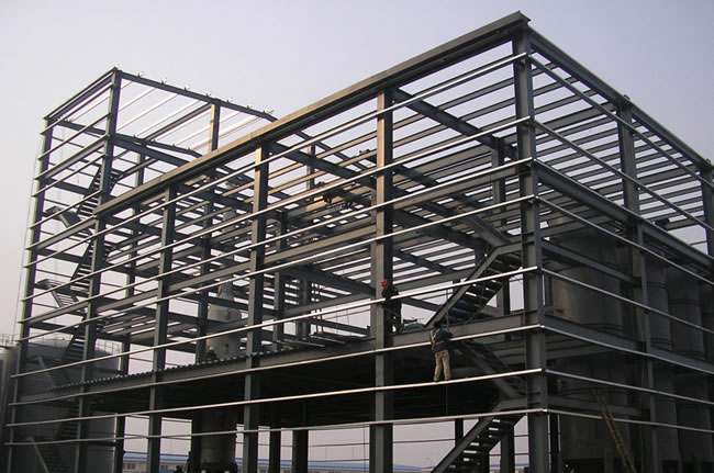 vantagens de construir com aço