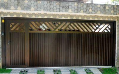Atenção ao pintar grades e portões